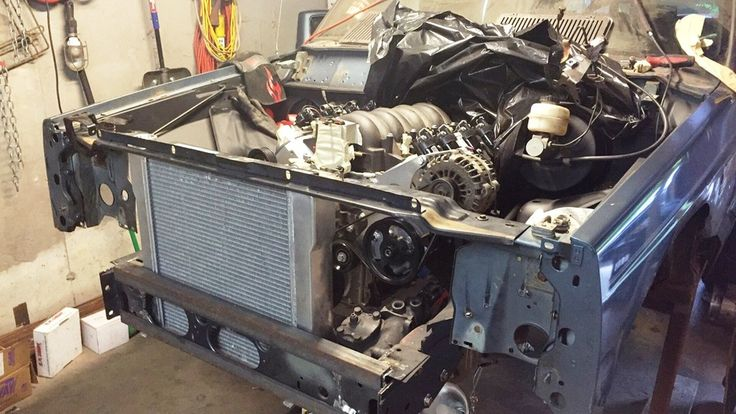 How to LS Swap a Jeep XJ Cherokee (photos) Jkforum