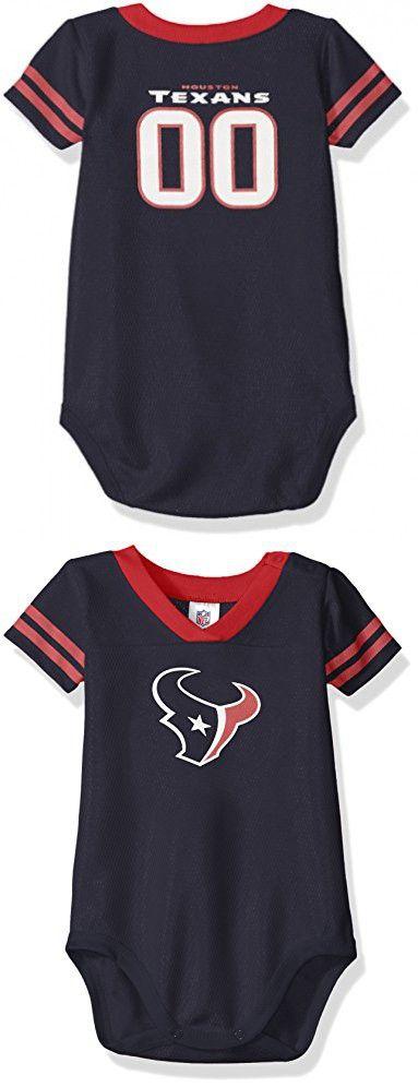 NFL Houston Texans Dazzle Bodysuit, 3-6 Months, Blue