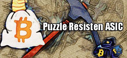 Puzzle Resisten ASIC