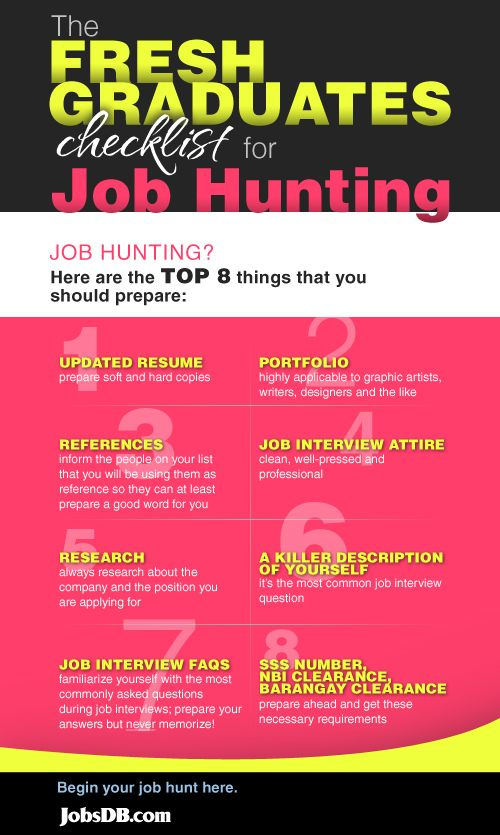 Beautiful Make Sure You Have Everything On This List When You Begin Your Job Hunt. Job  Hunting TipsCareer ...