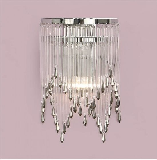Best Crystal Wall Lights : The 44 best images about Art Deco Period Lighting on Pinterest Art deco style, Chrome 5 and ...