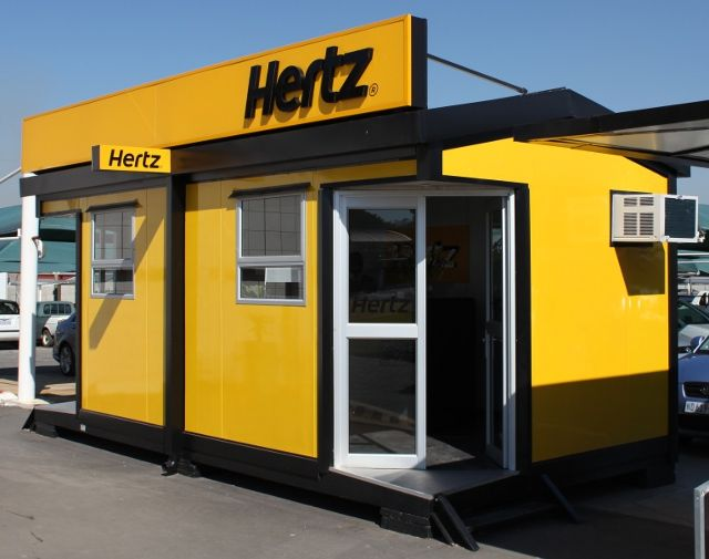 Hertz Car Rental offices at Lanseria International Airport (2011)