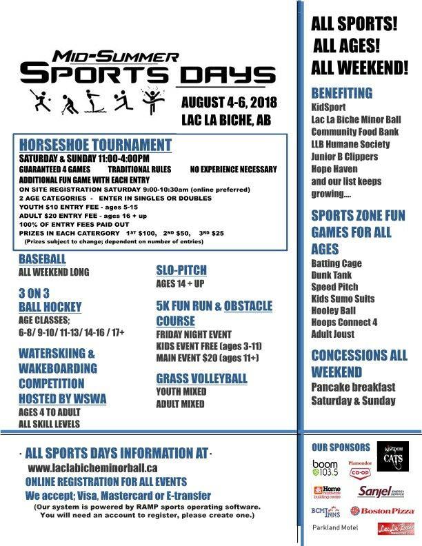 Horseshoe Tournament Horseshoe Laclabiche Lakeland Sportsdays18 Sports Day Summer Sports Tournaments