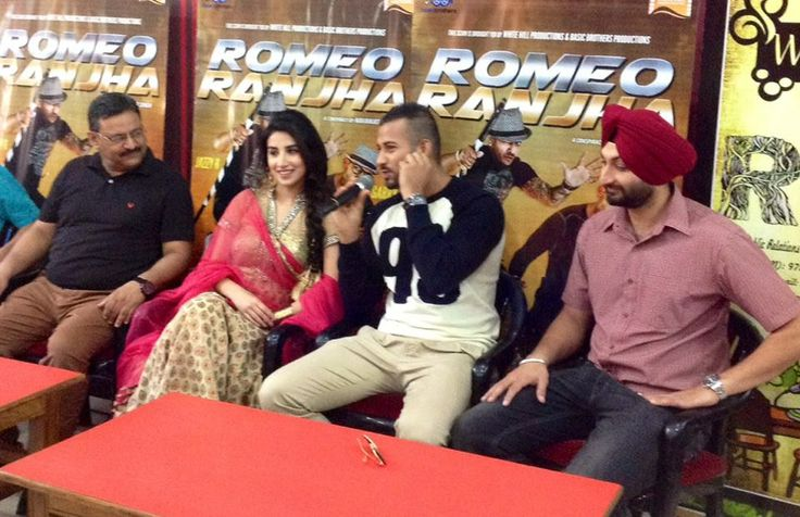 Ambala press Conference images 4th Day Romeo Ranjha #Promotional Tour