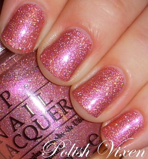 Shimmer And Sparkle Nail Polish: OPI DS Reserve...my Two Favs- Pink And Glitter
