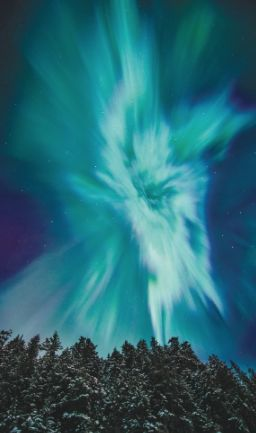Night Aglow - the Northern Lights - Alaska Magazine
