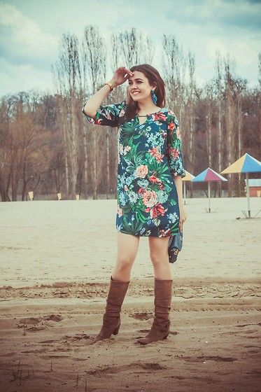 Tropical style by Katerina L. from Russian Federation #blogger #bataboots #batashoes #fashionista #style