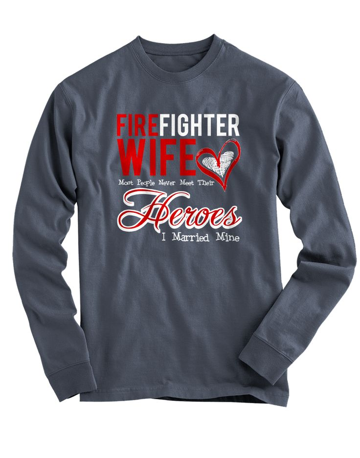 "Pick your favorite style: Are you a proud Firefighter's Wife? Now you can show it with this super cute ""I Married Mine"" design! - Guaranteed safe and secure checkout via Amazon / VISA / MASTERCARD. -"
