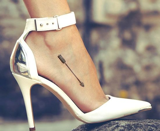 Arrow Tattoo on Foot