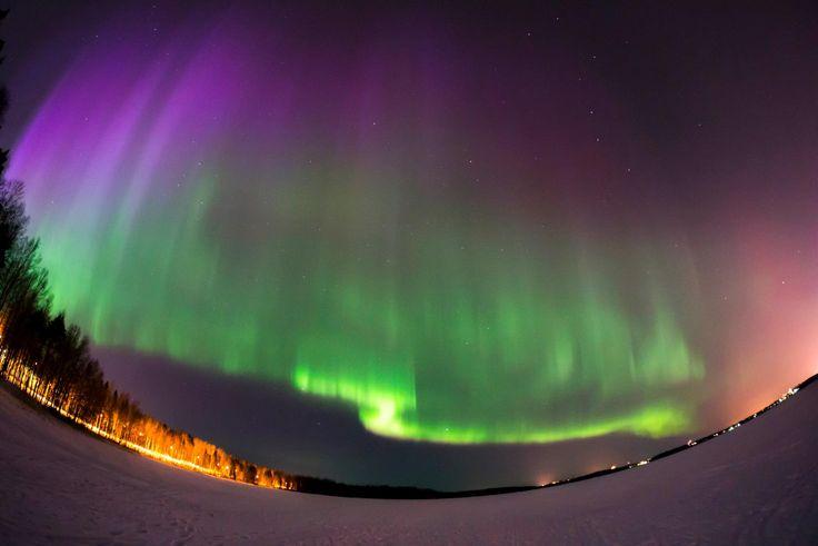 Aurelius Borealis@ Lake Saimaa