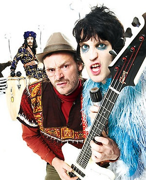 Mike Fielding, Julian Barrett, Noel Fielding. I have this picture on my bathroom mirror. For inspiration.