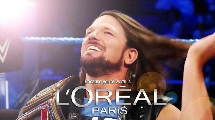 AJ Styles gets a shampoo deal