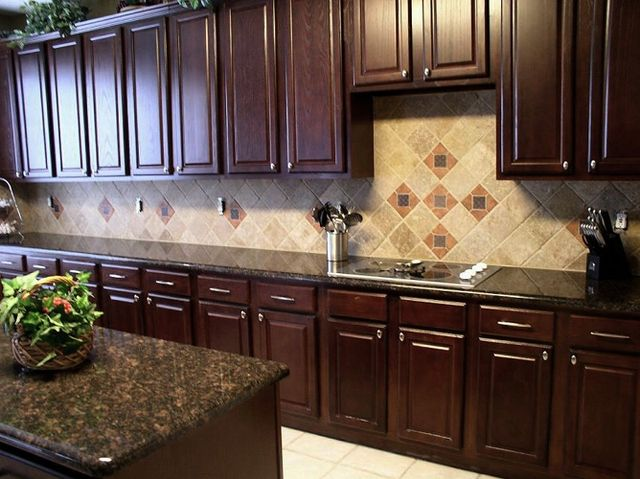 Kitchen Ideas Dark Brown Cabinets best 25+ brown granite ideas on pinterest | tan kitchen cabinets