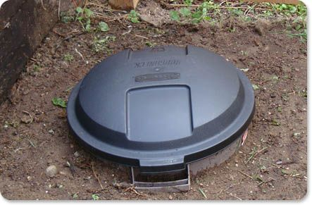 Dog Waste Compost Bin: Add in what your dog left behind, throw in some septic…