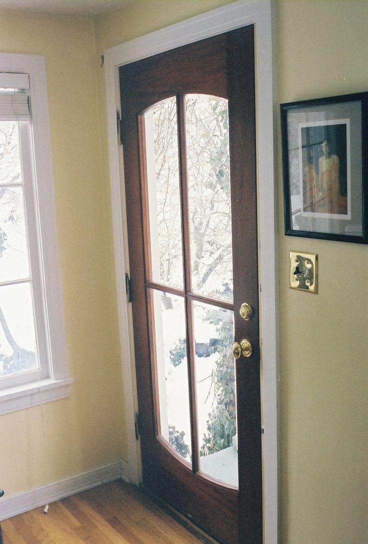 Childhood home...Dad made the door.