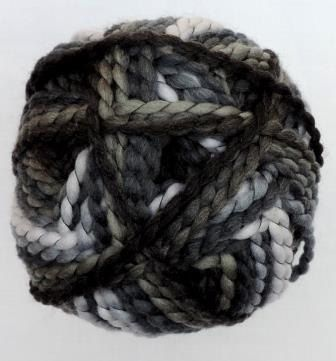 Perla color by Grundl - Black-gray multicolor 3354-22, bulky yarn by ColorfullmadeShop on Etsy