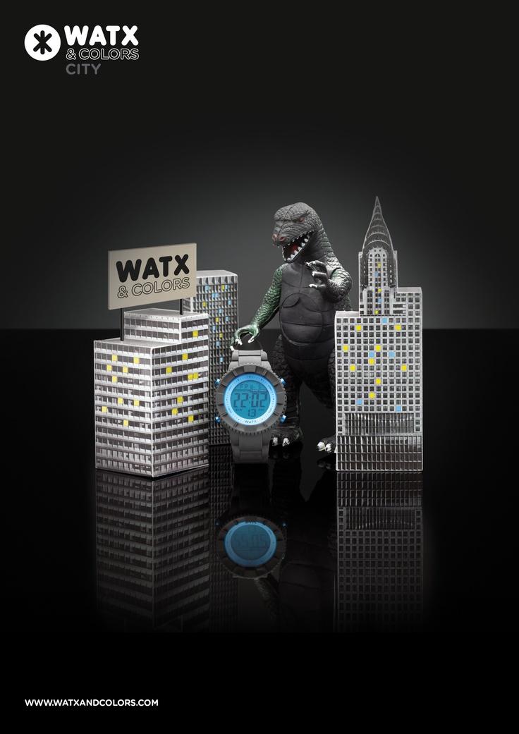 WATX & COLORS City: Relojes de colores tendencia con esferas y correas intercambiables. ¡Más de 100 combinaciones diferentes para estrenar reloj cada día!