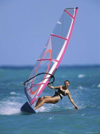 I really miss windsurfing...