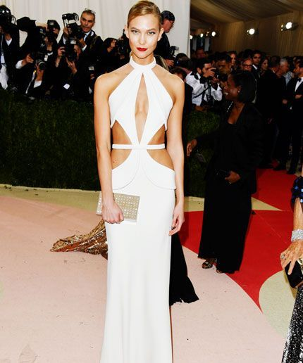 Karlie Kloss chopped this into a minidress after the Met Gala.