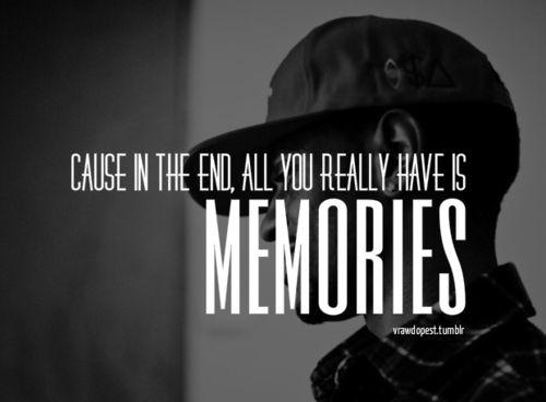Big Sean, Memories And