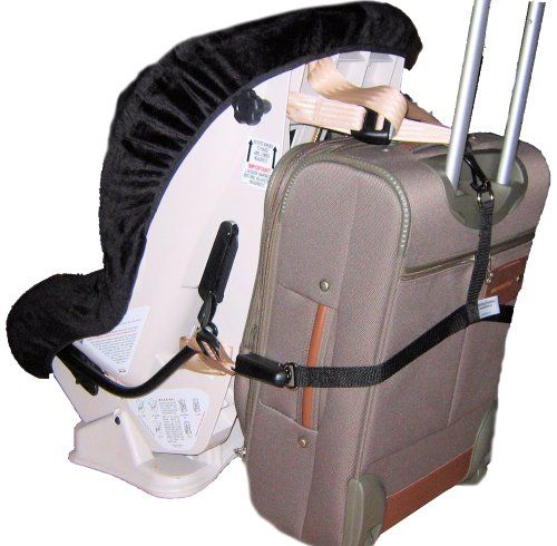 Attach Toddler Seat to Suitcase to get through the airport