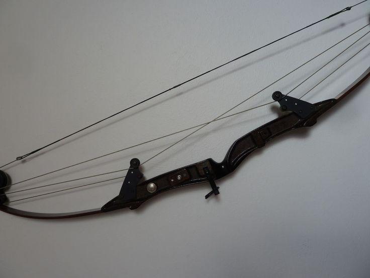 "Vintage Bear Compound Bow Whitetail Hunter 1970s USA 30"" 50 - 60 # Bear Archery #BearArchery"