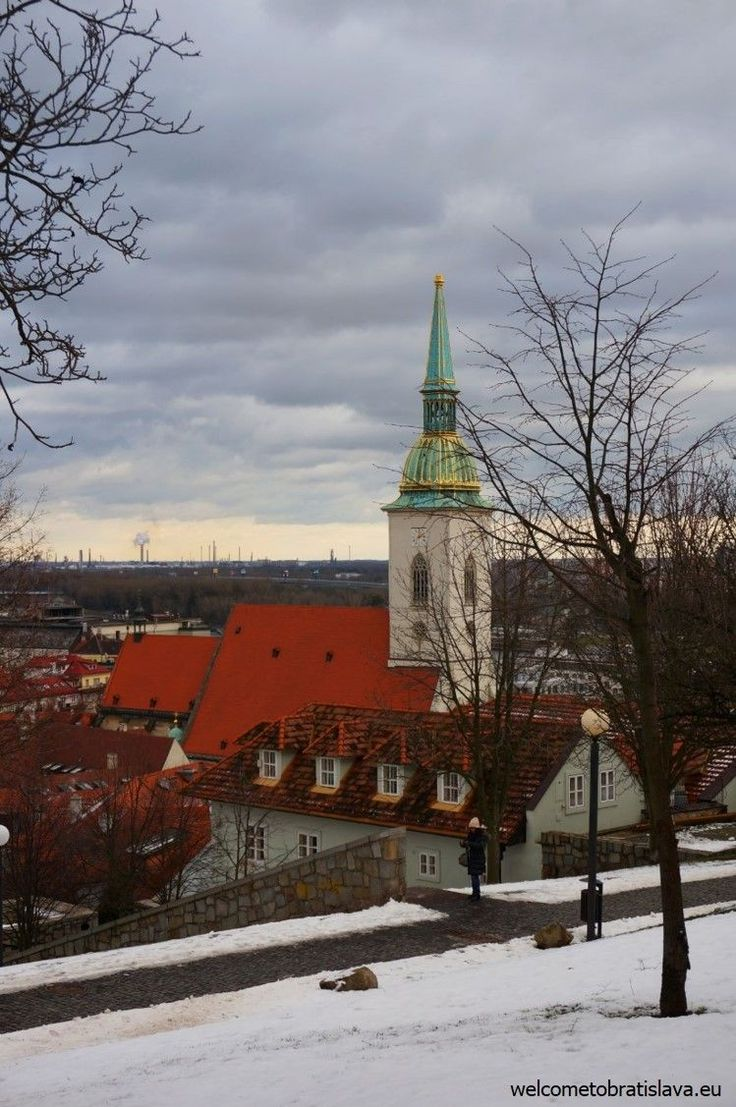 WINTER IN BRATISLAVA - WelcomeToBratislava | View on the St. Martin's Cathedral