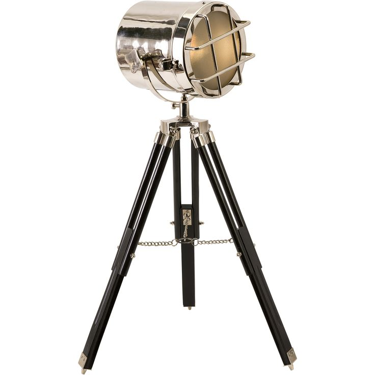 hollywood studio royal spot light tripod floor lamp - Spotlight Floor Lamp