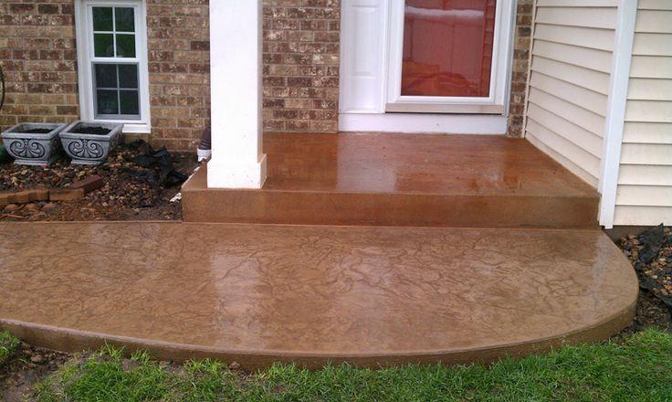 die besten 25 s ure gebeizt beton ideen auf pinterest s urewaschbeton befleckt beton veranda. Black Bedroom Furniture Sets. Home Design Ideas