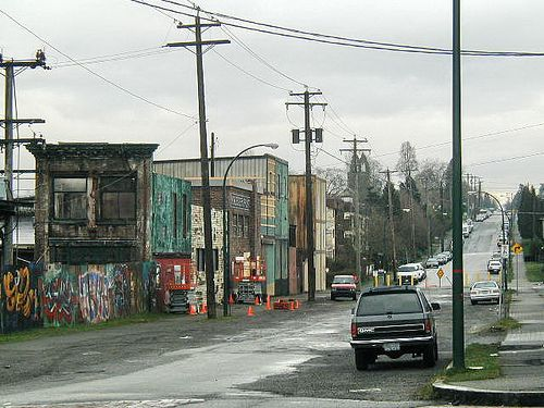 Looking East On Franklin St From Victoria Dr