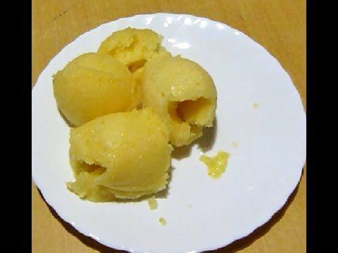 Апельсиновое мороженое в домашних условиях (без мороженницы и постное)