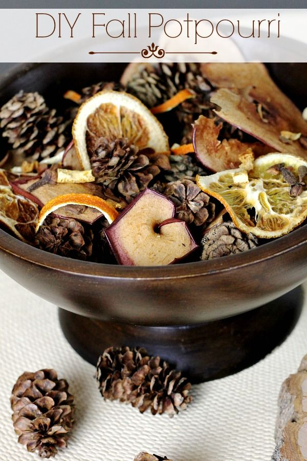 Bring the sights and smells of autumn indoors with DIY Fall Potpourri from All Things G&D