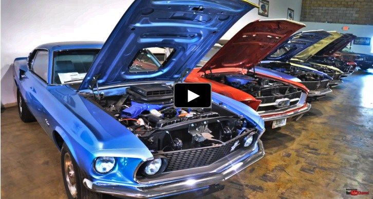 Unexposed Barn Find Ford Muscle Cars Collection