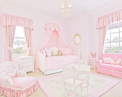 Adorable Hime/sweet Lolita decor...I wish!