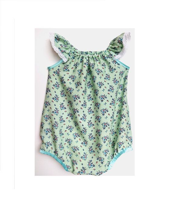 Hey, I found this really awesome Etsy listing at https://www.etsy.com/uk/listing/506386995/mint-romper-floral-romper-baby-clothes