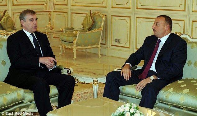 Nuevo viaje secreto del príncipe Andrés a Azerbaiyán