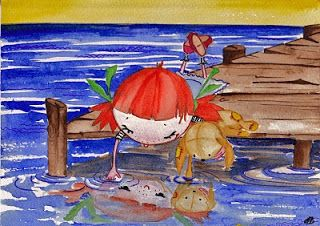 Anita Bagdi: Illustration Friday: Double