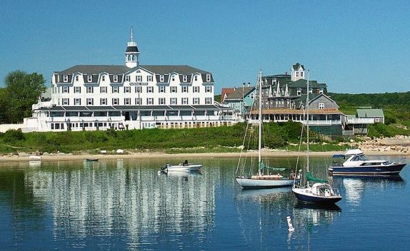 The National Hotel Is Located On Block Island Off The