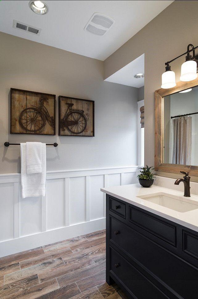 Boys Bathroom Design Ideas Great Kids Bathroom With Painted Furniture Vanity