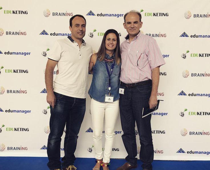 Nuestros directivos @alejandrocarrillomartinez @laurahaygon y el DGT siguen formándose en #edumanager #valencia #innova2020