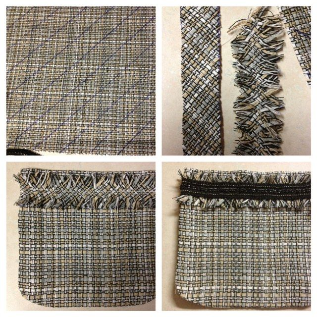 Just Keep Sewing: Chanel Tweed Jacket Underway: Trim and Fringe