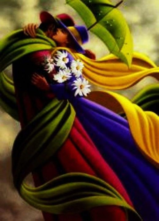 Claude Théberge 1934-2008 | Canadian painter | The Umbrellas | Tutt'Art@ | Pittura * Scultura * Poesia * Musica |