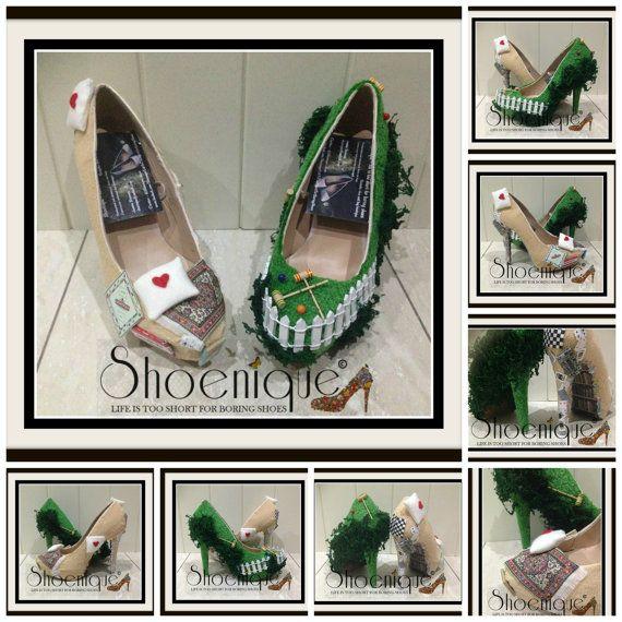 Petite fée Croquet planche jeux jardin par ShoeniqueLifeIsShort