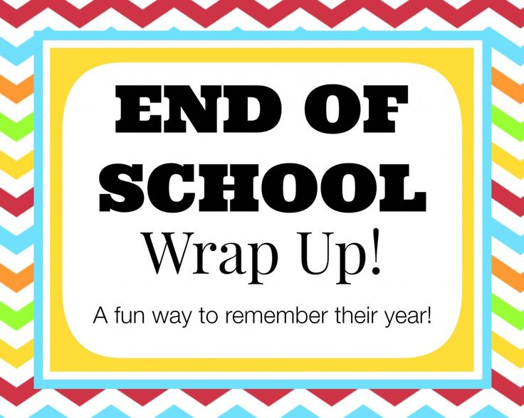 End of School Wrap Up… a Questionnaire to Remember Their Year! (she: Veronica) - oneshetwoshe.com