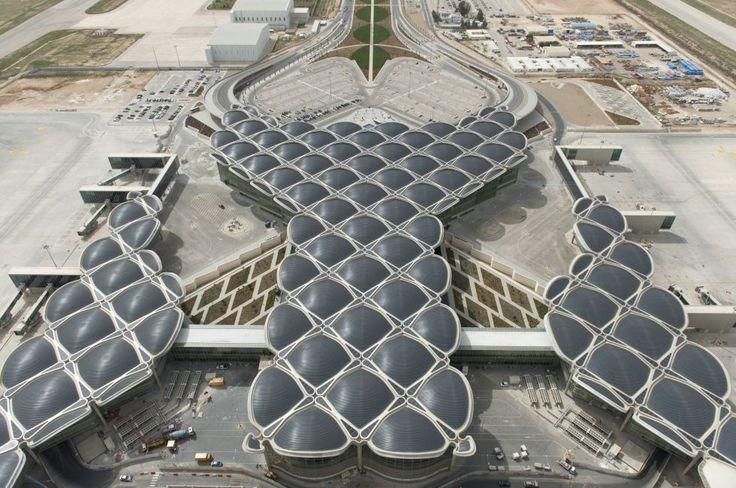 Norman Foster para aeropuerto Queen Alia, en Amán (Jordania)
