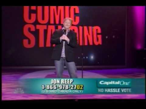 Last Comic Standing - Jon Reep - Final 5 Performance - YouTube