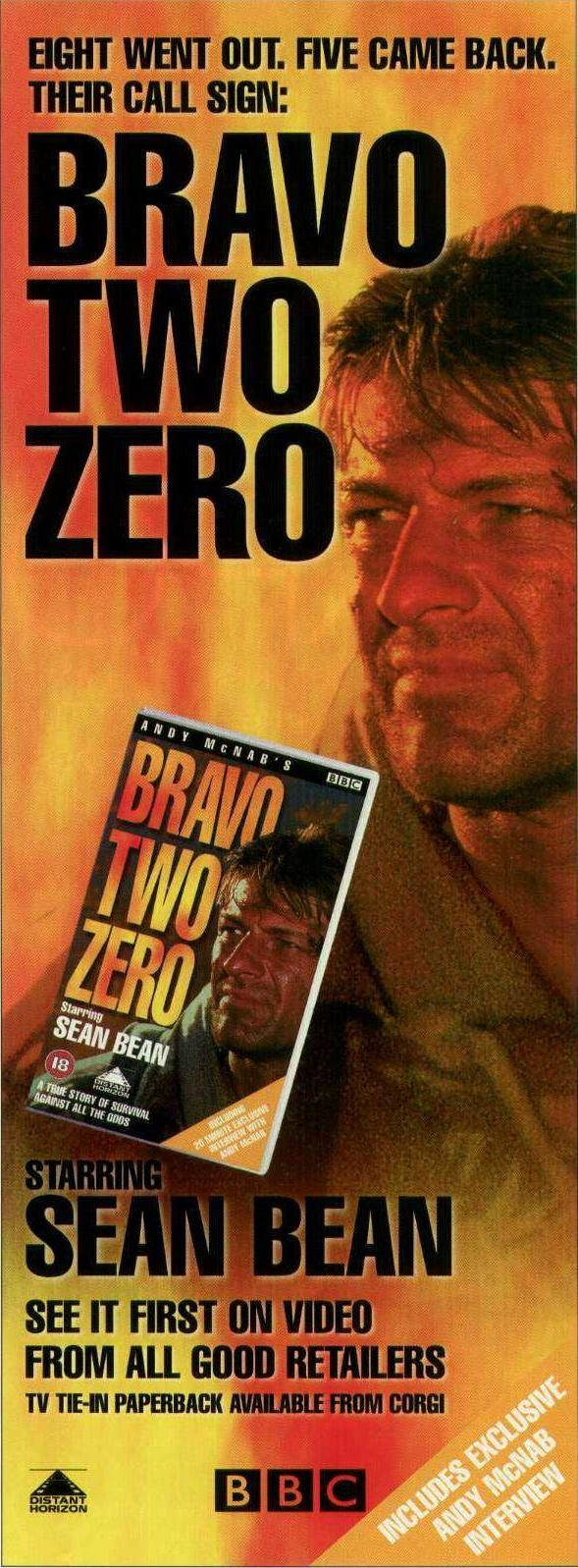 Bravo Two Zero Magazine Ad supposed to be a true story, but doubts remain about veracity