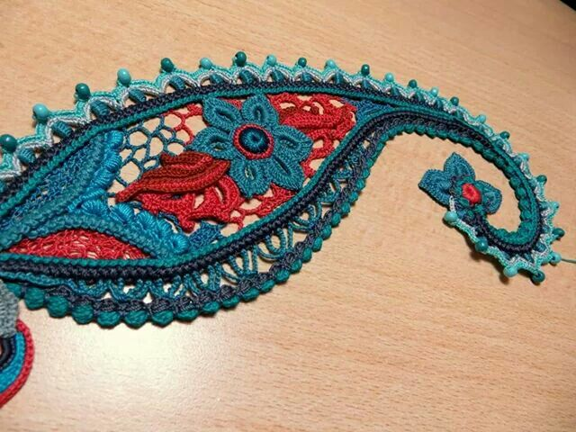 The 1298 Best Images On Pinterest Freeform Crochet Irish