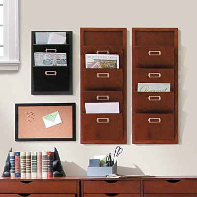 Hanging Office Organizers Mail  Message Center Office