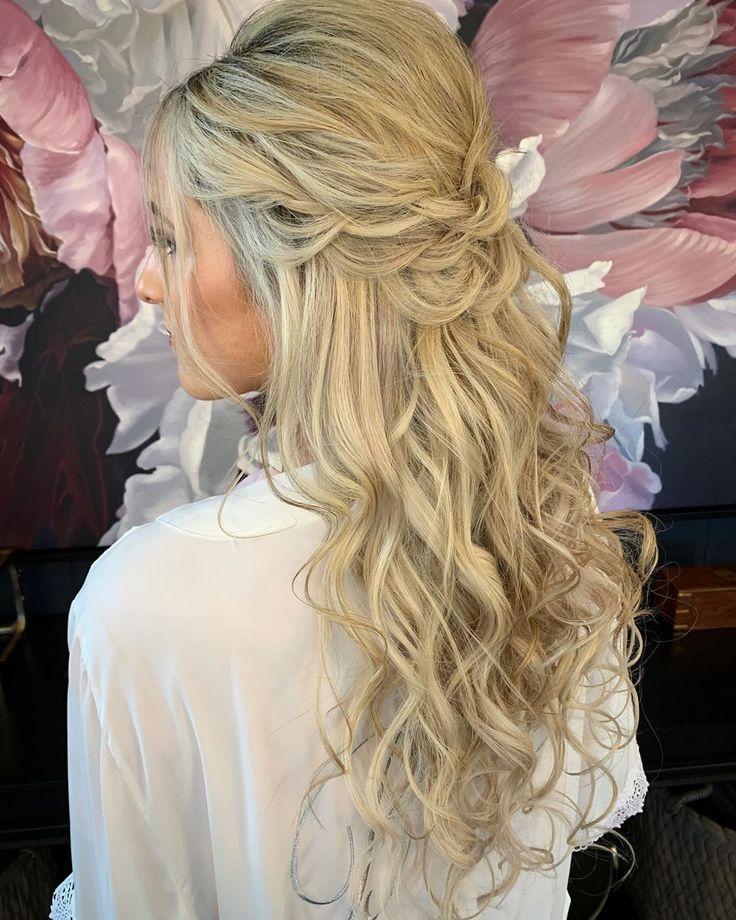 40 + Hochzeit Beauty Frisuren von 2019